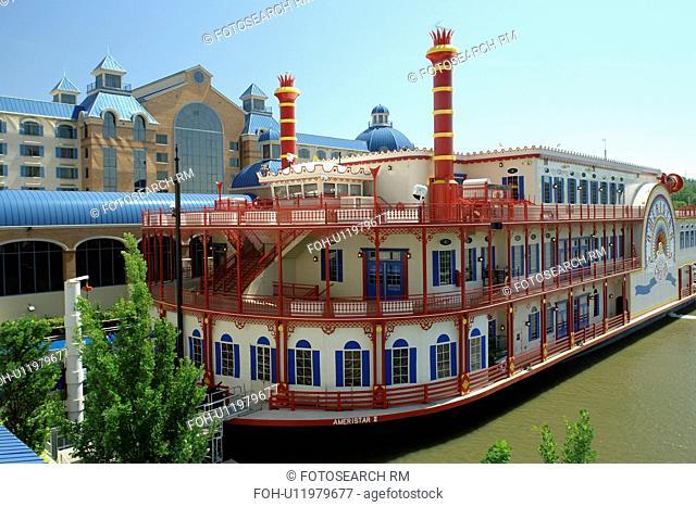 Council Bluffs, IA, Iowa, riverboat, Ameristar Casino
