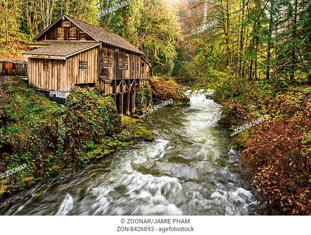 The Cedar Creek Grist Mill in Washington State