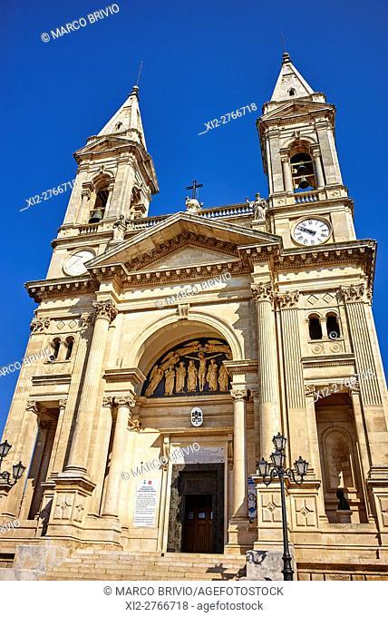 Basilica of Santi Cosma e Damiano. Alberobello, Apulia, Italy