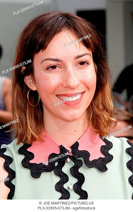 Gia Coppola at the Hand and Footprint Ceremony honoring Francis Ford Coppola held at the TCL Chinese Theatre in Hollywood, CA
