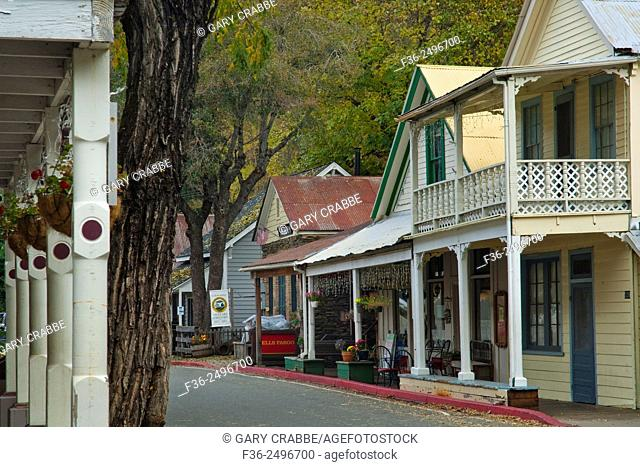 Downtown Downieville, Sierra County, California