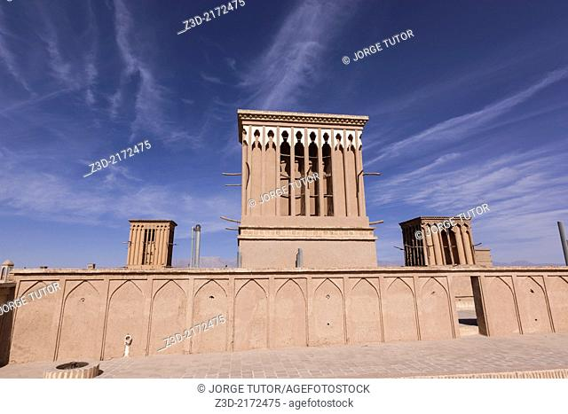 Badgir, Wind Tower, Yazd, Iran