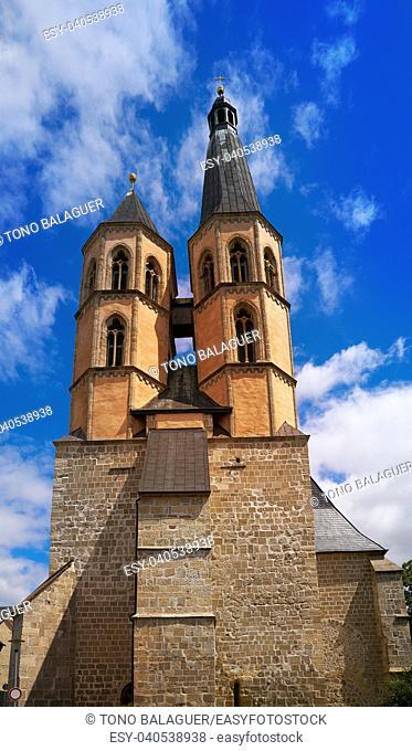 Nordhausen St Blasii church in Thuringia Germany