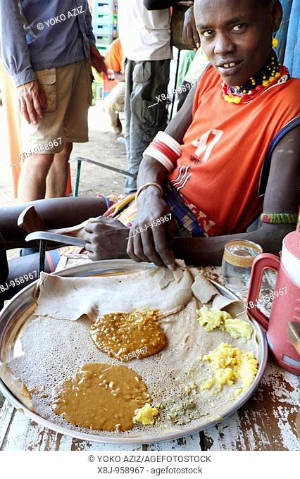 ethiopia, omo valley, omorate
