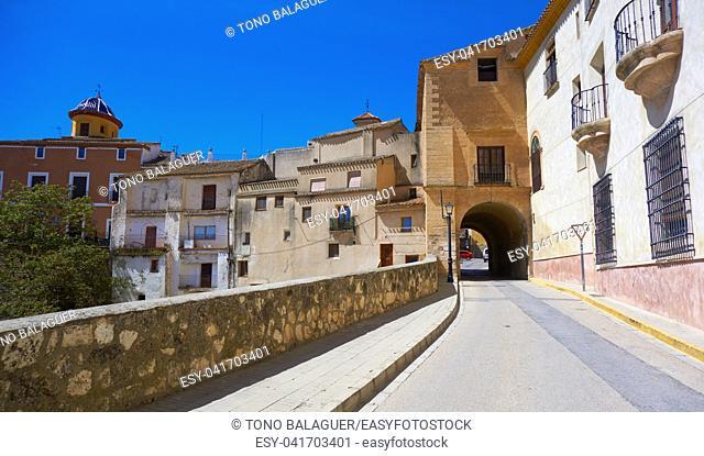 Chinchilla Montearagon by Saint James Way of Levante at La Mancha Spain