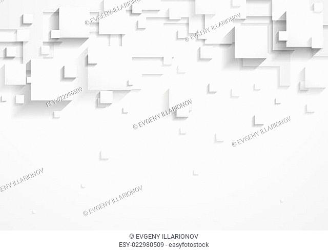 Abstract corporate tech grey design