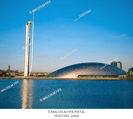 Observation Tower and Science Pavilion. Glasgow. Scotland