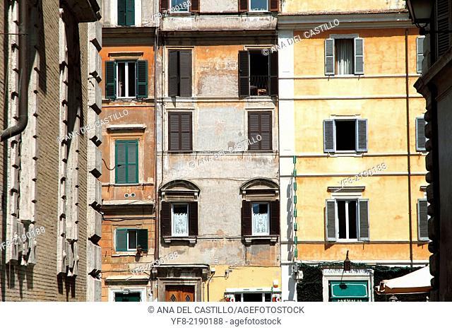 Trastevere district Rome Italy