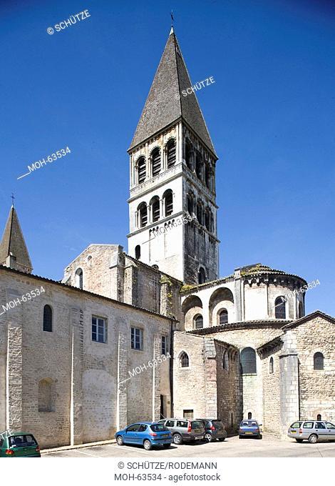 Tournus, ehemalige Klosterkirche St-Philibert ab 1020