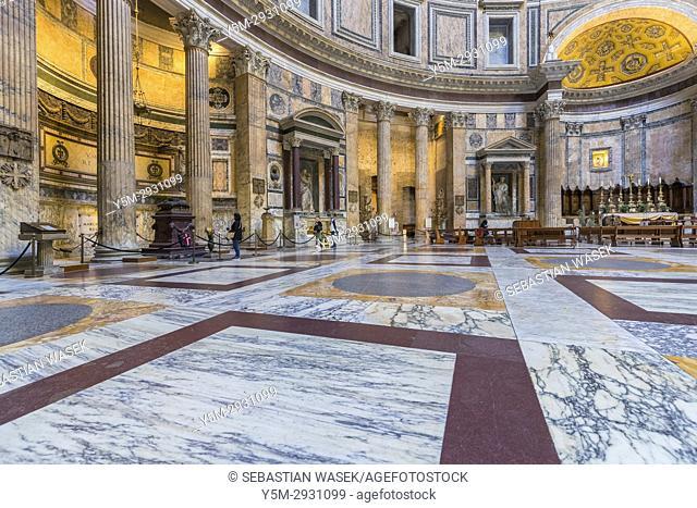 The Pantheon, Rome, Lazio, Italy