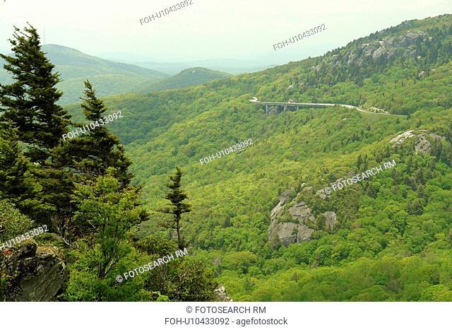 Blue Ridge Parkway, Boone, NC, North Carolina, Blue Ridge Mountains, Appalachian Mts Grandfather Mountain, Rough