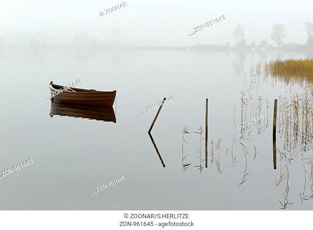 Fishing boat in Ummanz