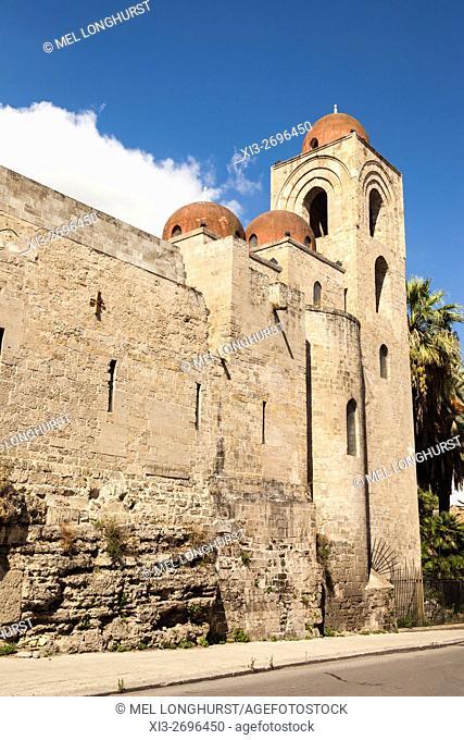 San Giovanni Degli Eremiti Church, Palermo, Sicily, Italy