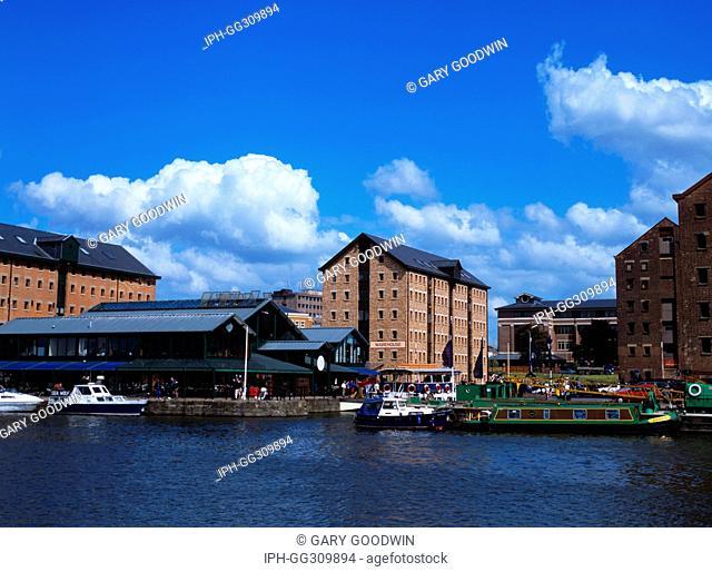 Gloucester - Merchants Quay on the Historic Docks