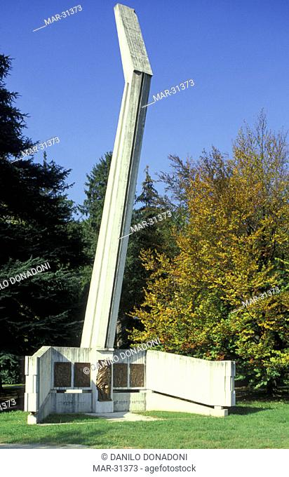 alpini monument, erba, italy