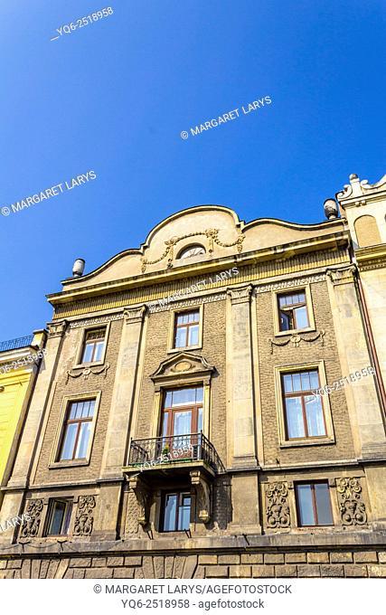 Historic townhouse in Krakow, Poland
