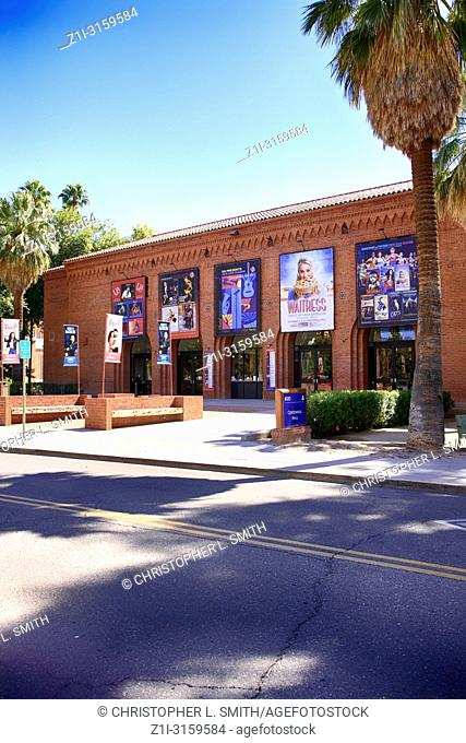 Outside the Centennial Hall University of Arizona buidling at E University Blvd, Tucson AZ