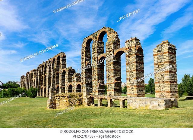 Los Milagros aqueduct, Mérida