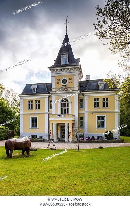 Denmark, Mon, Mons Klimt, Liselund Slot Castle