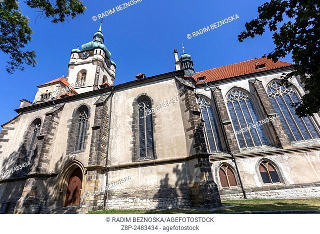 Church of Saints Peter and Paul, Melnik, Central Bohemia, Czech Republic