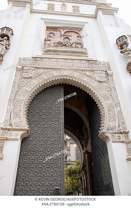 Puerta del Perdon, Santa Maria Cathedral, Seville, Spain