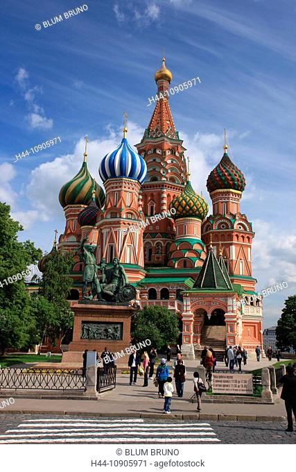 Russia, Moscow, cathedral, St. Basil's Cathedral, Red Square, Kremlin, Russian-orthodox, church, history, onion domes, monasteries, magical times