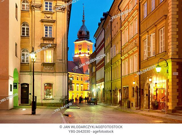 Warsaw Old Town, Poland