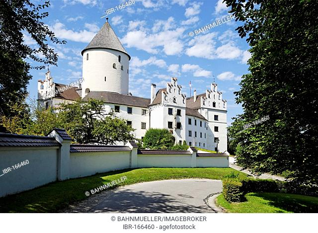 Kronwinkl district of Landshut Lower Bavaria Germany castle of the counts of Preysing