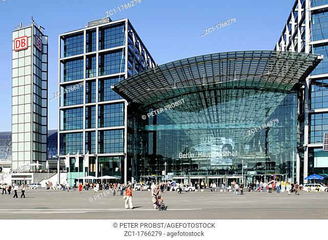 Central train station of Berlin - Caution: For the editorial use only  Not for advertising or other commercial use!