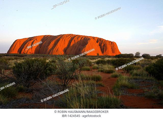 The Ayers Rock, Uluru, Northern Territory, Australia
