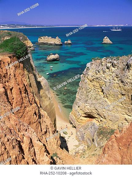 Beaches near Lagos, Algarve, Portugal, Europe
