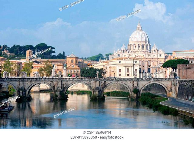 View on Vatican