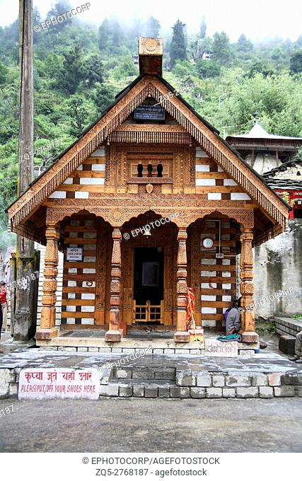 Vasishth temple, Manali, Himachal Pradesh, India