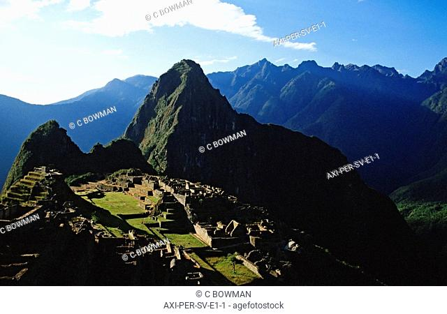 South america, peru, machu picchu