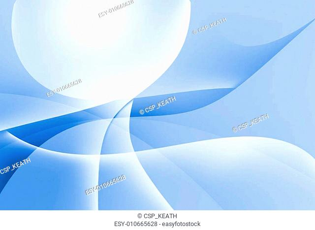 abstract curve and lines texture blue background
