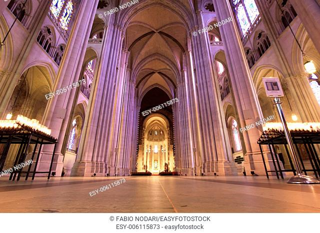 Interior of Cathedral Saint John the Divine