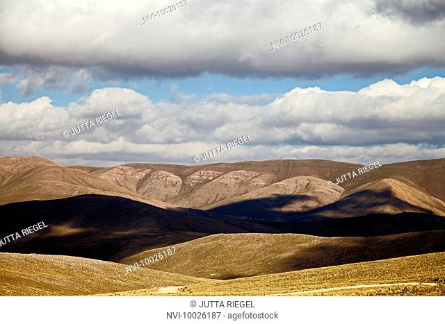 Plateau in the Andes near Iruya, Province of Salta, Argentina