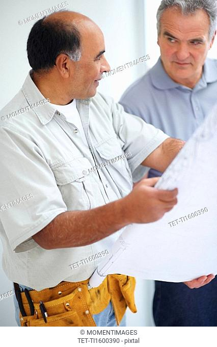 Looking at blueprints