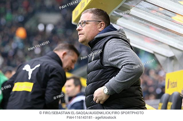 firo: 26.01.2019 Football, Football: 1. Bundesliga, Season 2018/2019 BMG Borussia Monchengladbach Borussia Monchengladbach Gladbach - FCA FC Augsburg 2: 0 BMG...