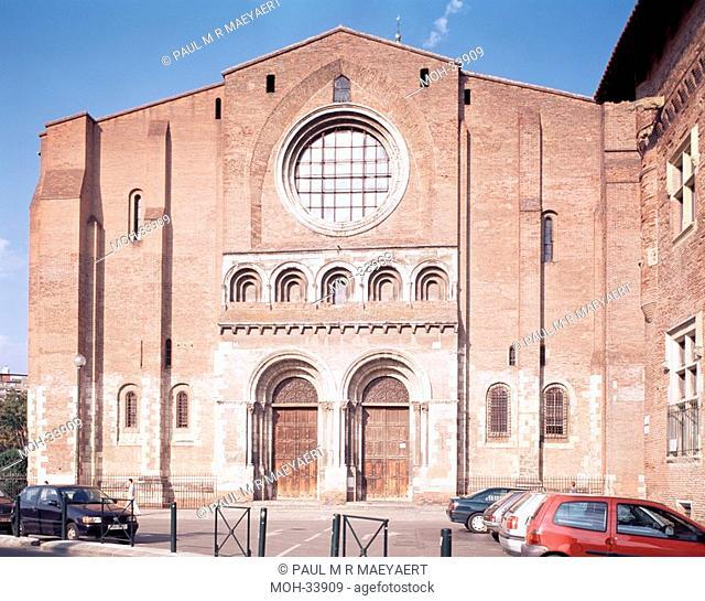 Toulouse, Basilika, Basilique Saint-Sernin