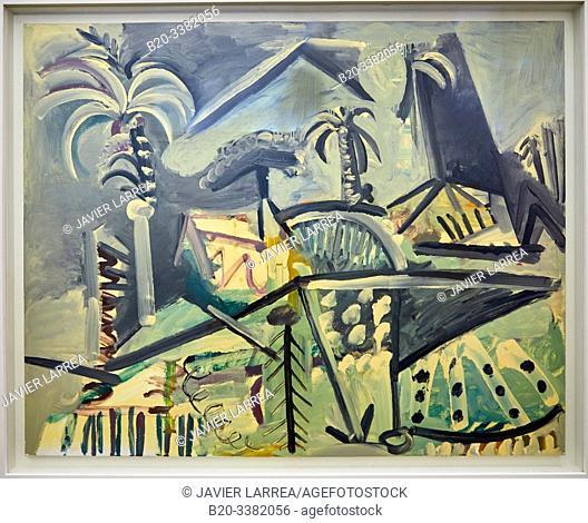 """Paysage"", 1972, Pablo Picasso, Picasso Museum, Paris, France, Europe"