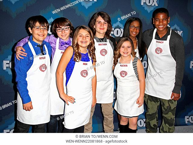 2015 FOX Winter Television Critics Association All-Star Party at the Langham Huntington Hotel - Arrivals Featuring: Junior chefs Where: Los Angeles, California