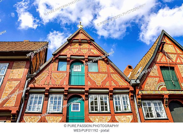 Germany, Lower Saxony, Lueneburg, Old town, Gable house
