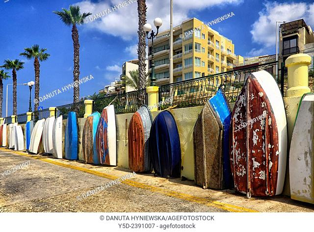 Bugibba, Saint Paul's bay, Malta, Europe