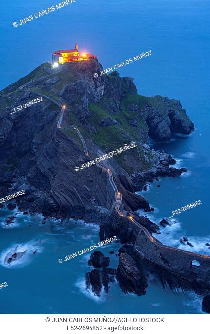 San Juan de Gaztelugatxe, Cantabrian Sea, Bizkaia, Basque Country, Spain