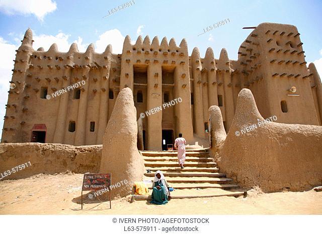 Great Mosque, Djenné. Mali