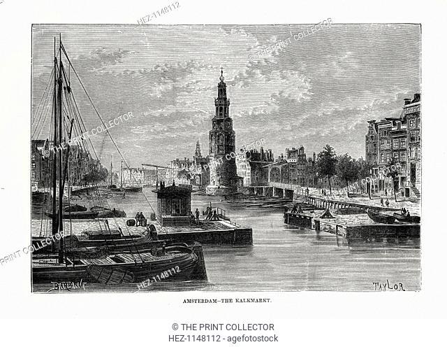 'The Kalkmarkt, Amsterdam', Holland, 1879