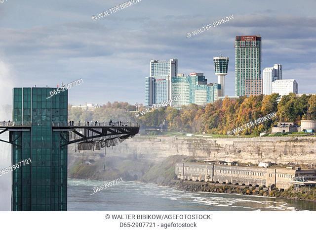 USA, New York, Niagara Falls, American Falls, Observation Tower