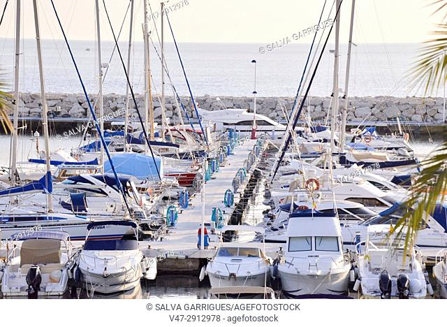 Port of Moraira, Teulada, Alicante, Valencia, Spain