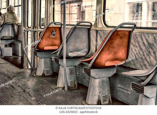 Tram seats